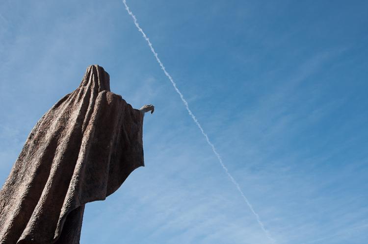 Statue in Madrid